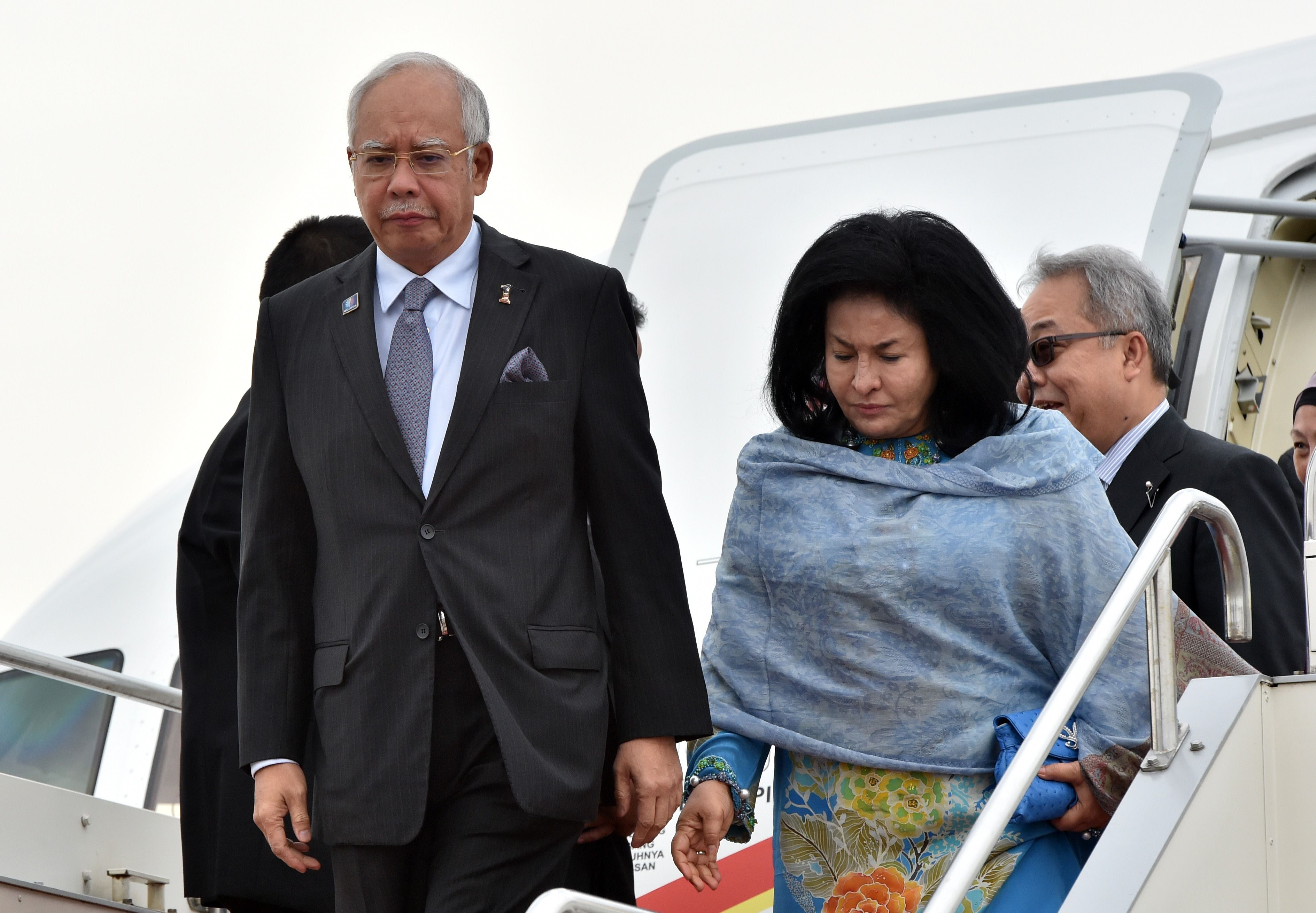 Image result for Najib and his wife Rosmah Mansour