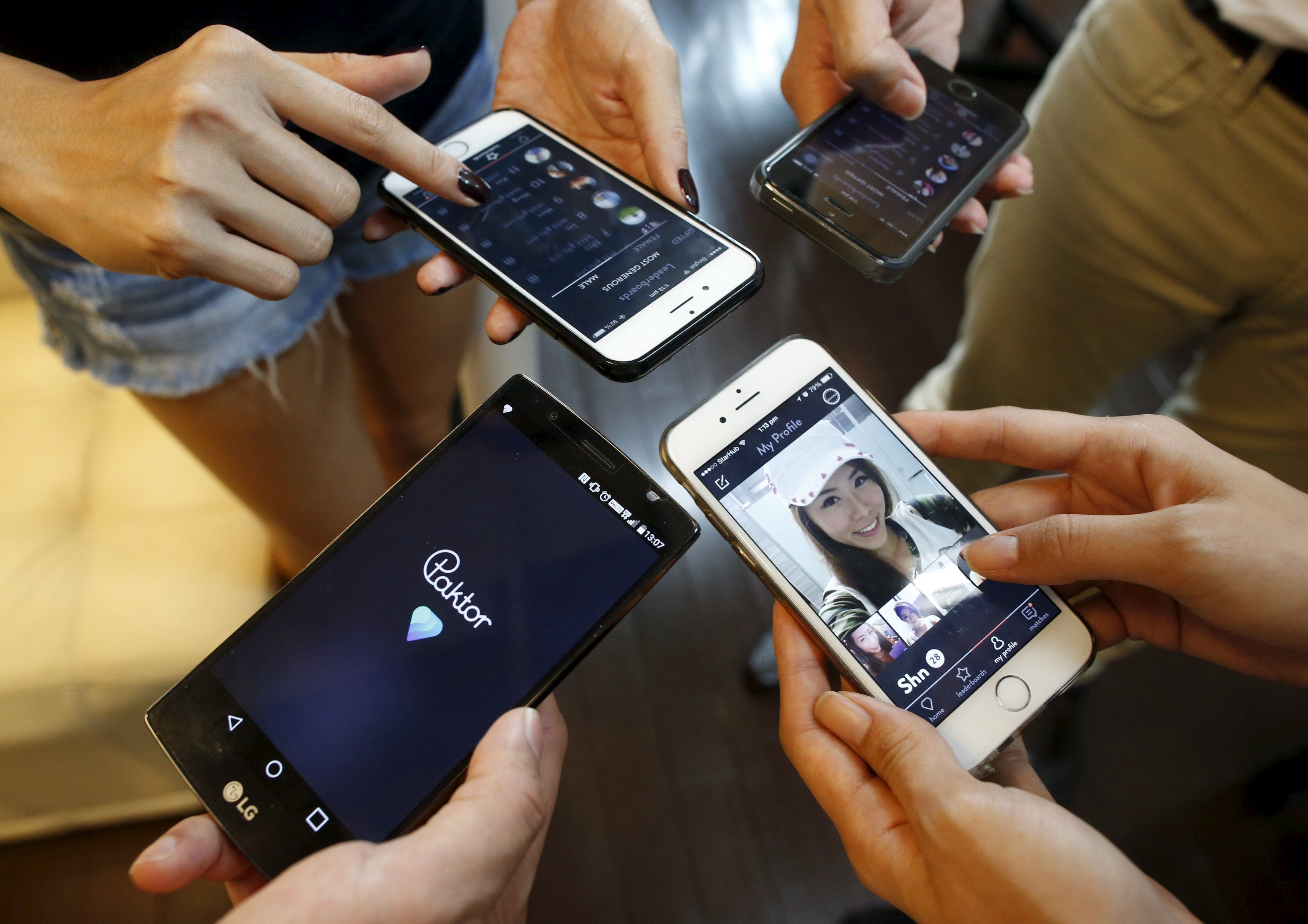 Move over Tinder - a crop of dating apps in smartphone-addicted Asia is  offering to recruit friends for group dates or send along a chaperone to  steer the ...