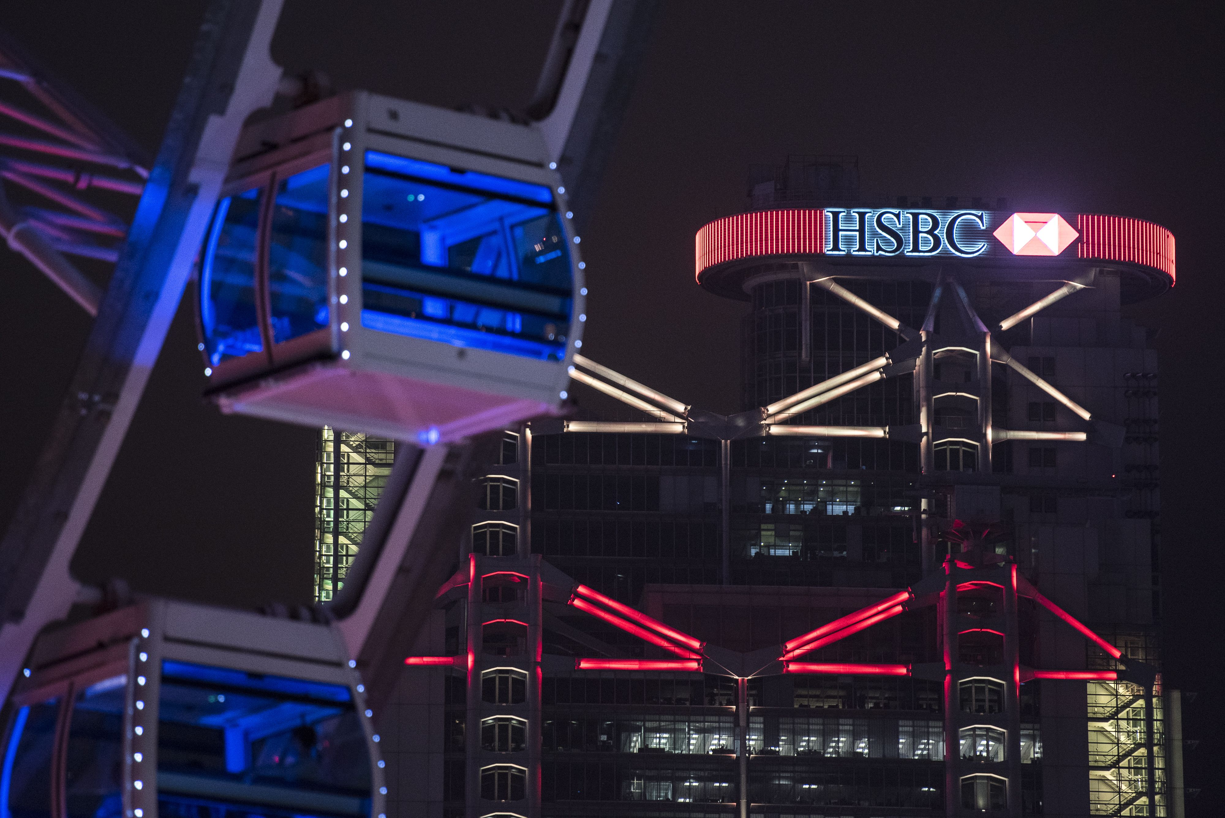 HSBC shares indicated to open up 3 4% after HQ decision, Banking