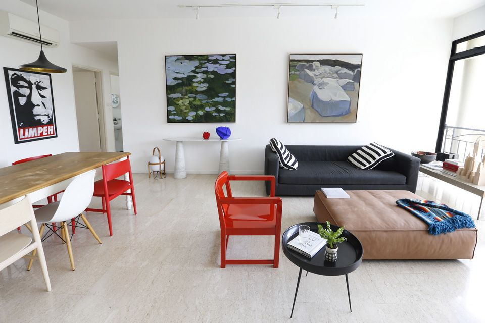 house tour an allwhite home filled with art and diy home decor singapore - Home Decor Singapore