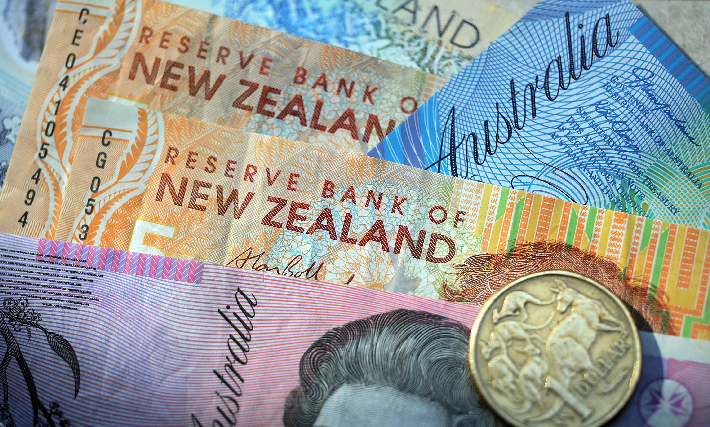 The Australian And New Zealand Dollars Slipped To Near One Month Lows On Monday Falling For A Fourth Straight Session As Soaring Us Treasury Yields Led