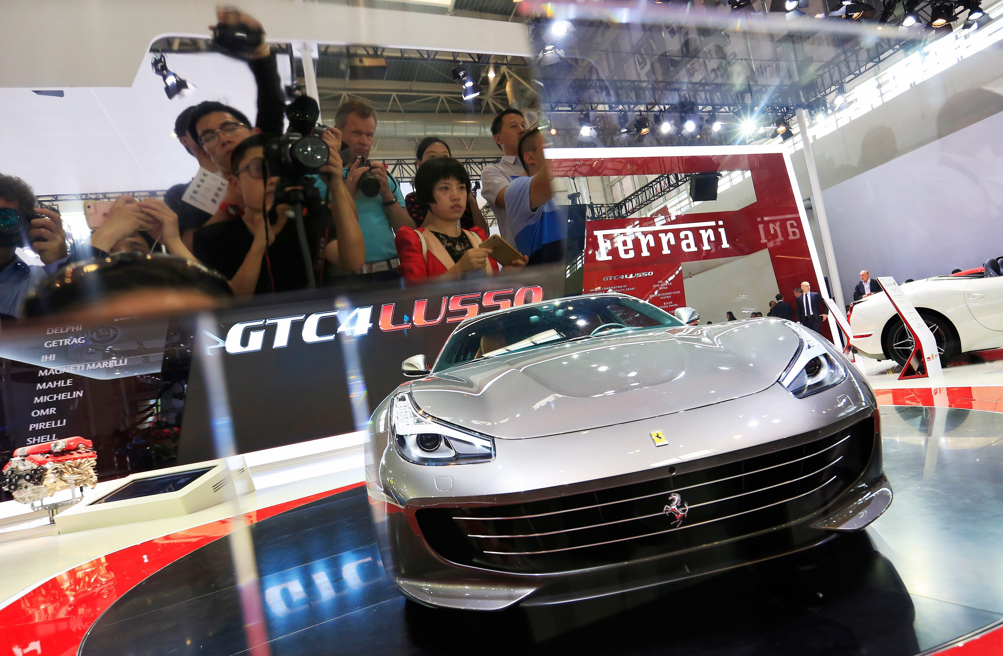 Chinese Buyers Rush For Luxury Cars To Beat New Levy Transport - Luxury car show