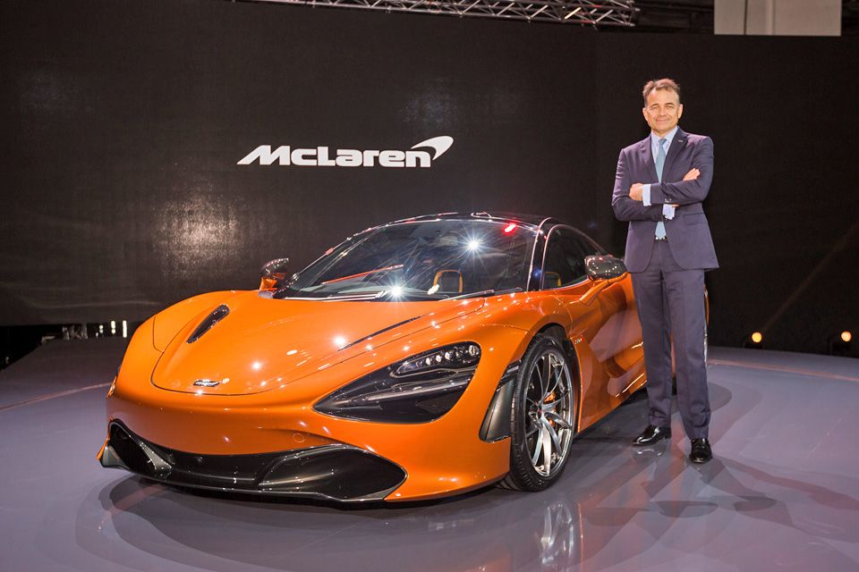 new mclaren 720s goes faster - but costs less, transport - the