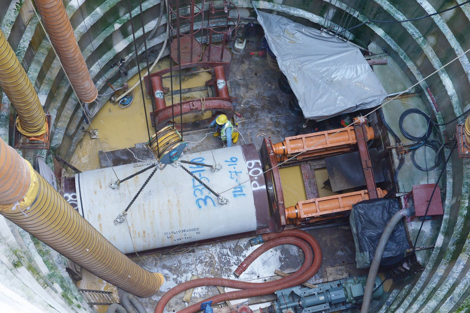 Pipe jacking increasingly tapped to install segments of