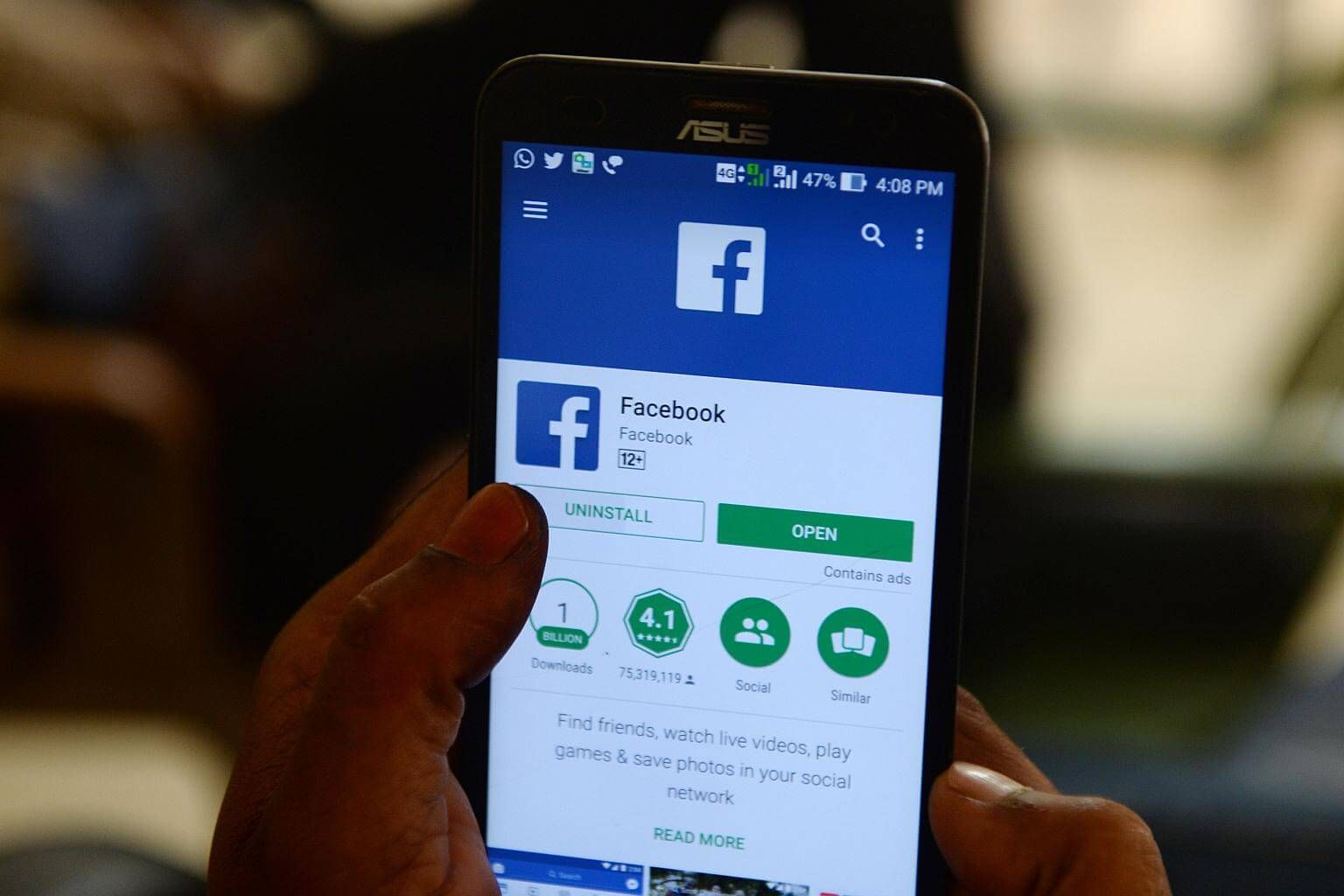 Facebooks Grip On Political Ads May Defy Stain Of Data Leak