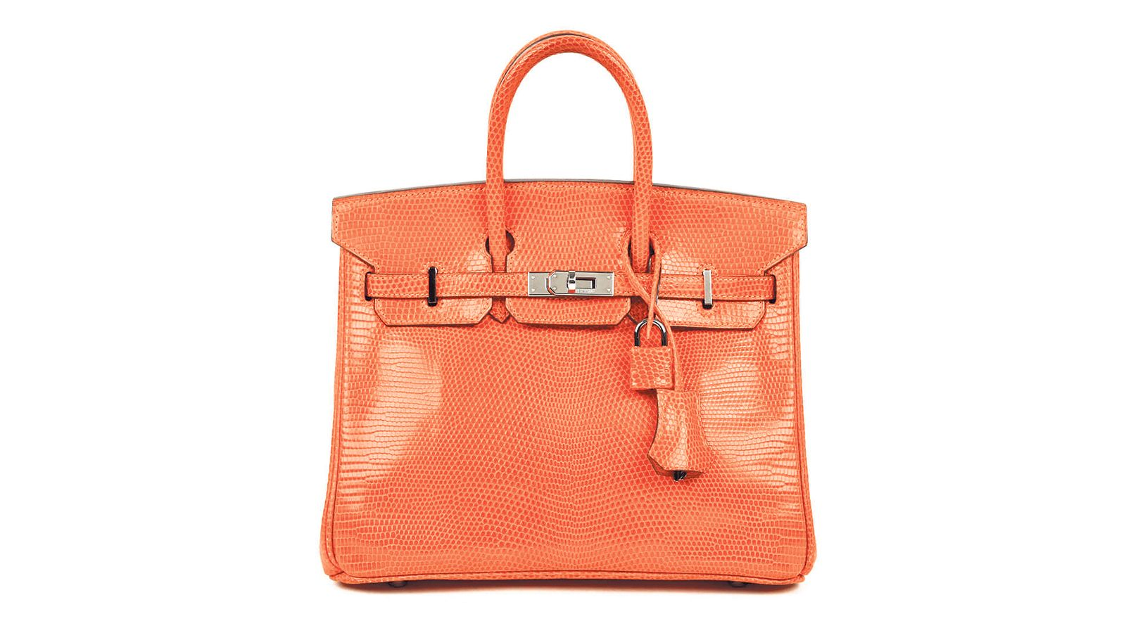 Hermes Birkin 25 in lizard skin, S 38,000, from The Fifth Collection. 1099dad0ab