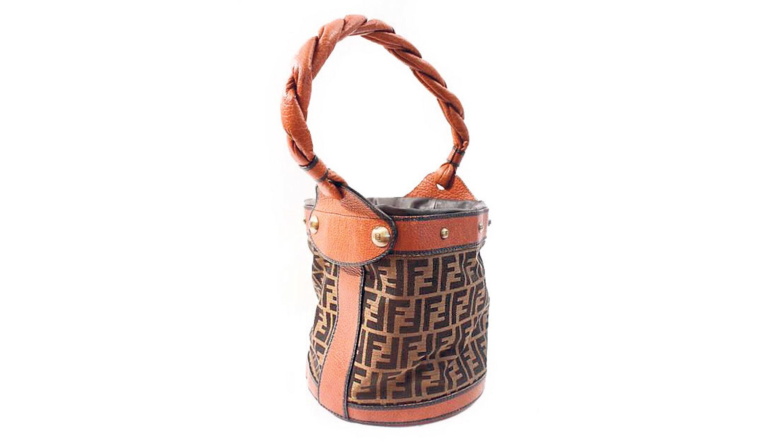 49ffb8411405 Rare Fendi Vintage Bucket bag, from Rice and Beans Vintage.
