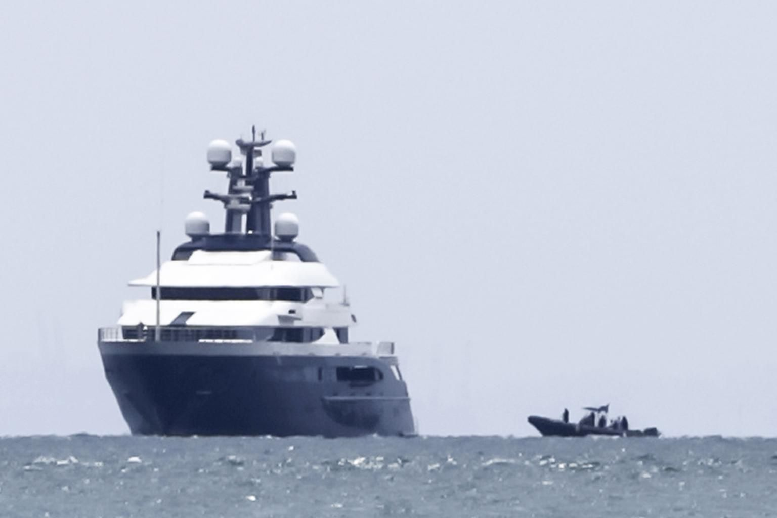 Fugitive businessman Jho Low's super-yacht will be sold for nine