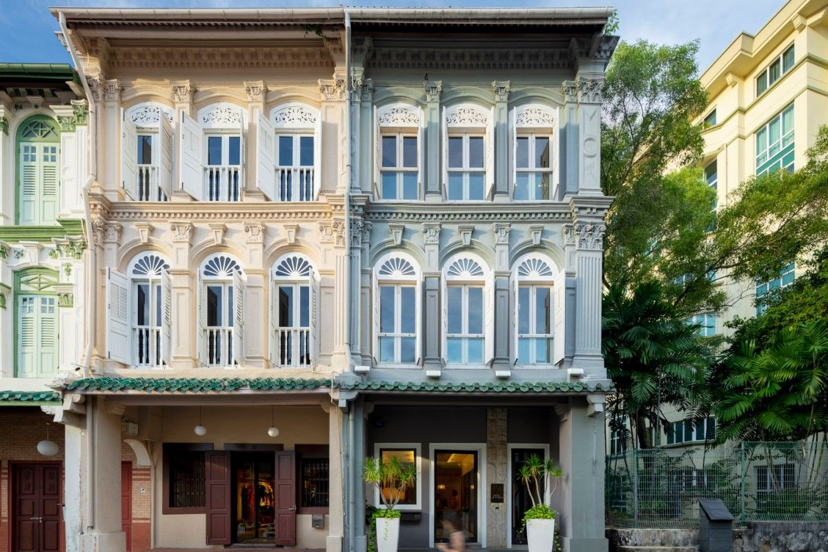 Corner heritage shophouse on Club Street up for sale again at S$23m